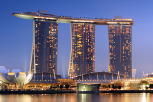 Marina Bay Sands, シンガポール